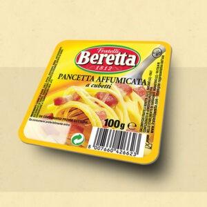 pancetta affumicata beretta a cubetti 110 grammi shop vepral