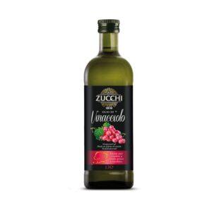 Bottiglia Vetro 1 Litro Olio Vinacciolo Zucchi Shop Vepral