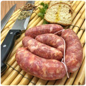 Salsiccia sotto vuoto Brugnolo Giancarlo 2 pezzi Circa 300/350 grammi Shop Vepral