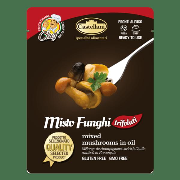 busta 220 grammi misto funghi trifolati castellani shop vepral