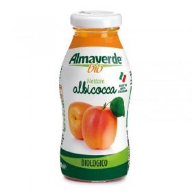 bevanda albicocca bio almaverde in vetro 200 millilitri shop vepral