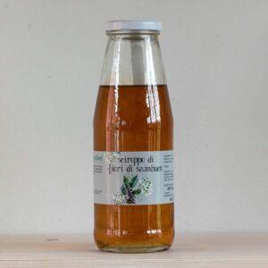 bottiglia 600 gr fiori Sambuco Settecentoalberi Shop Vepral